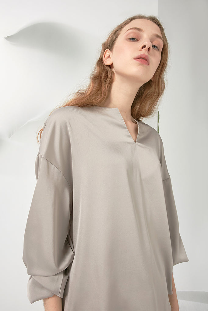 Basic chiffon blouse - Zelle Studio