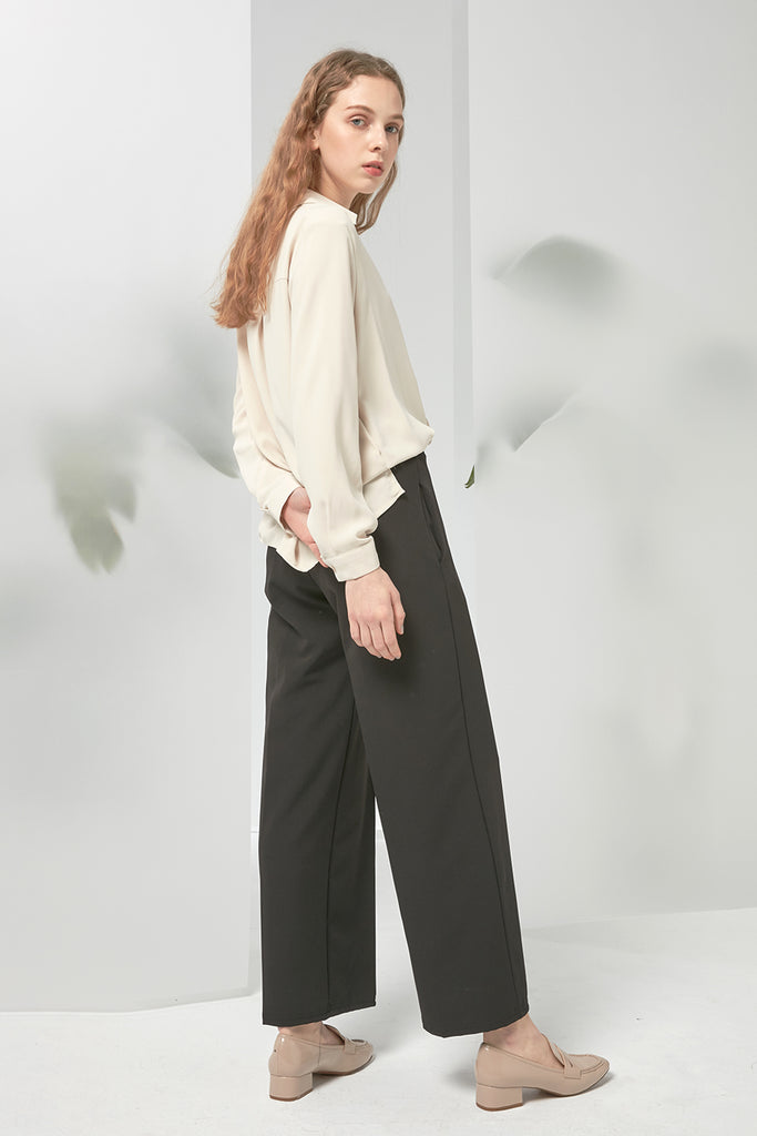 Smart casual chiffon trousers - Zelle Studio