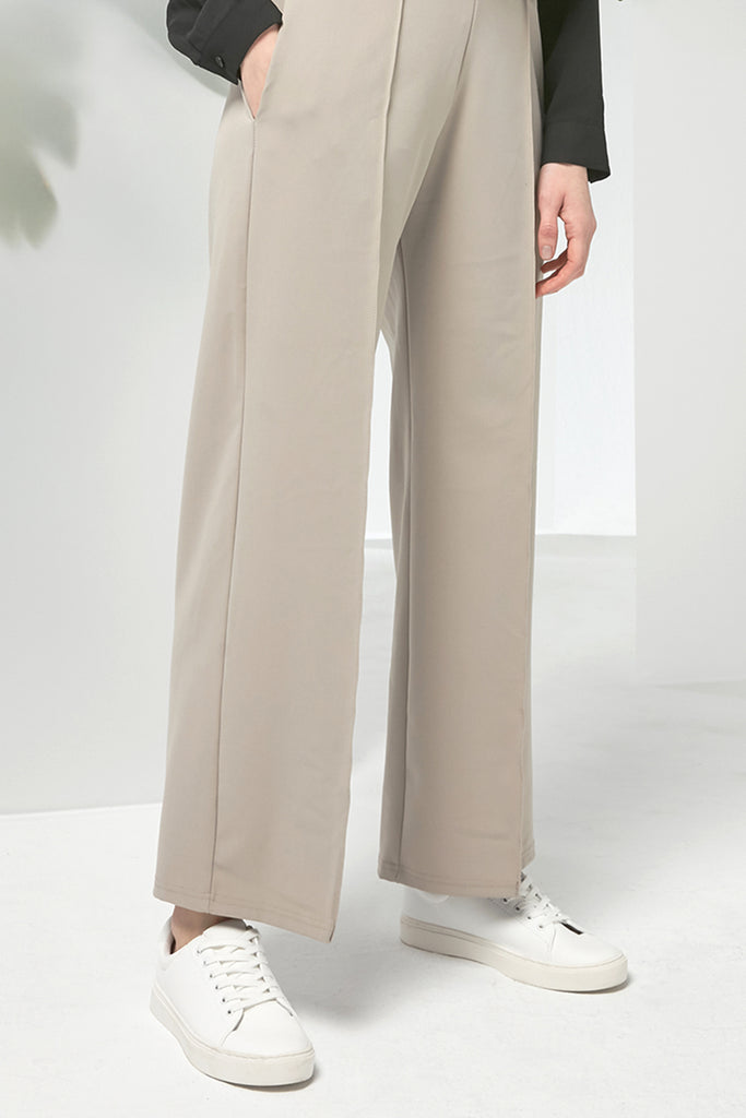 Smart casual chiffon trousers