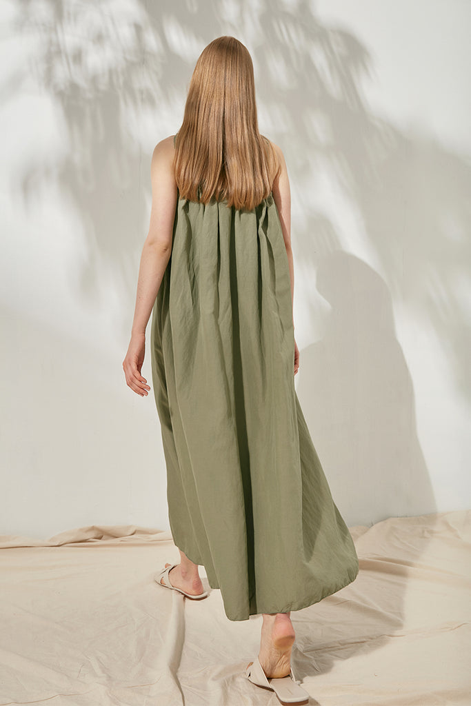 Linen slip dress - Zelle Studio