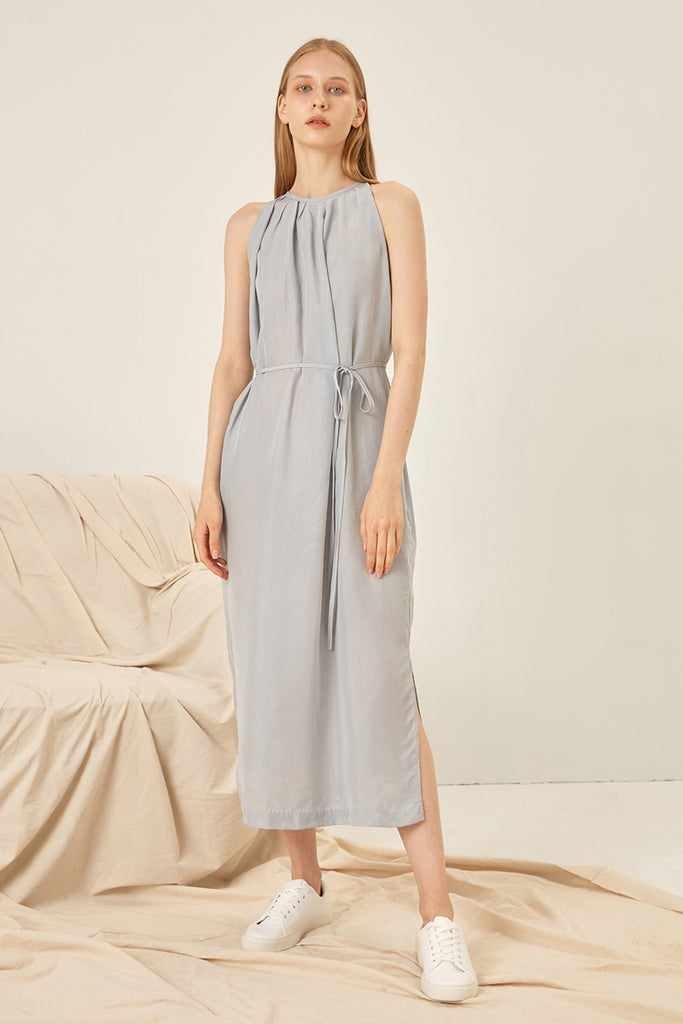 Rayon midi dress - Zelle Studio