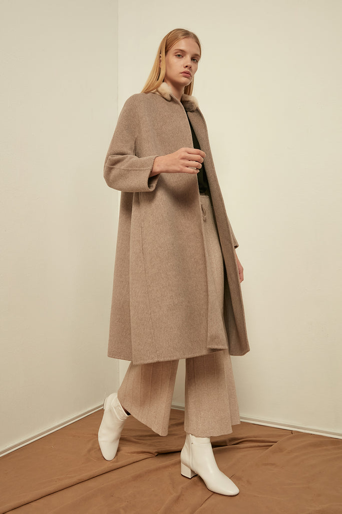 Extra fine wool coat - Zelle Studio