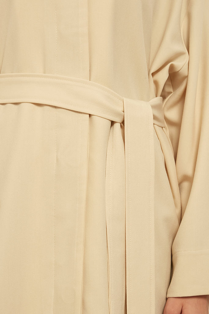 Lightweight cotton-blend coat - Zelle Studio