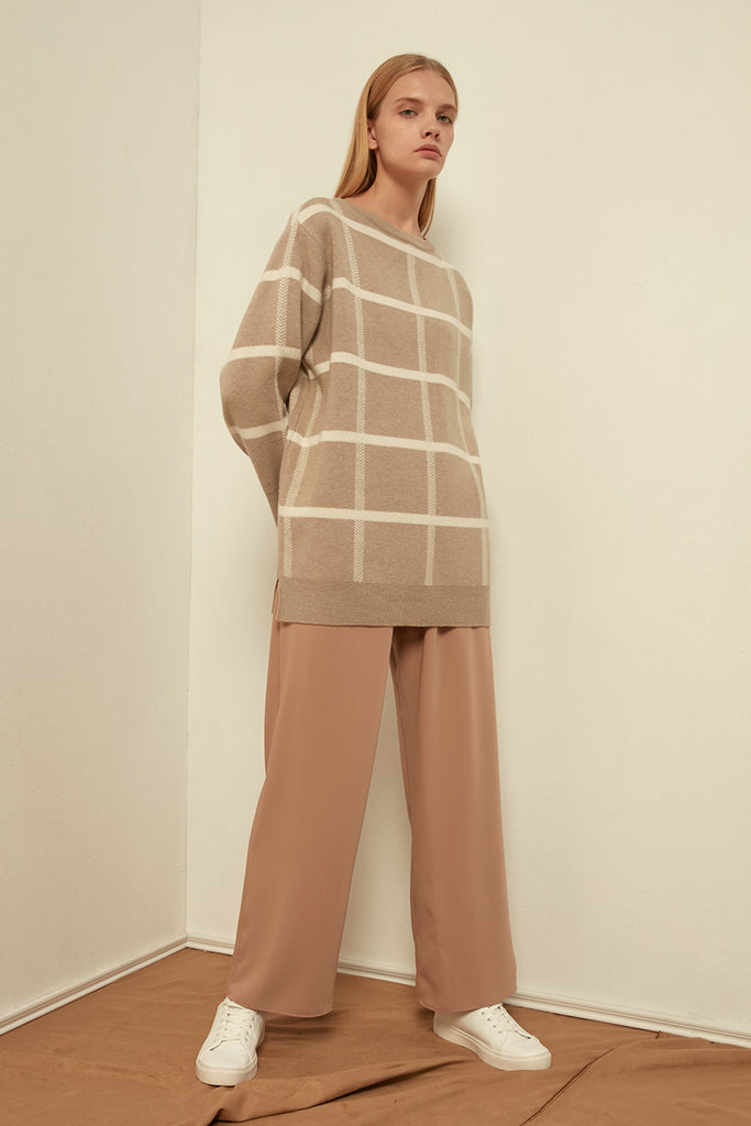 Cashmere and wool-blend sweater - Zelle Studio