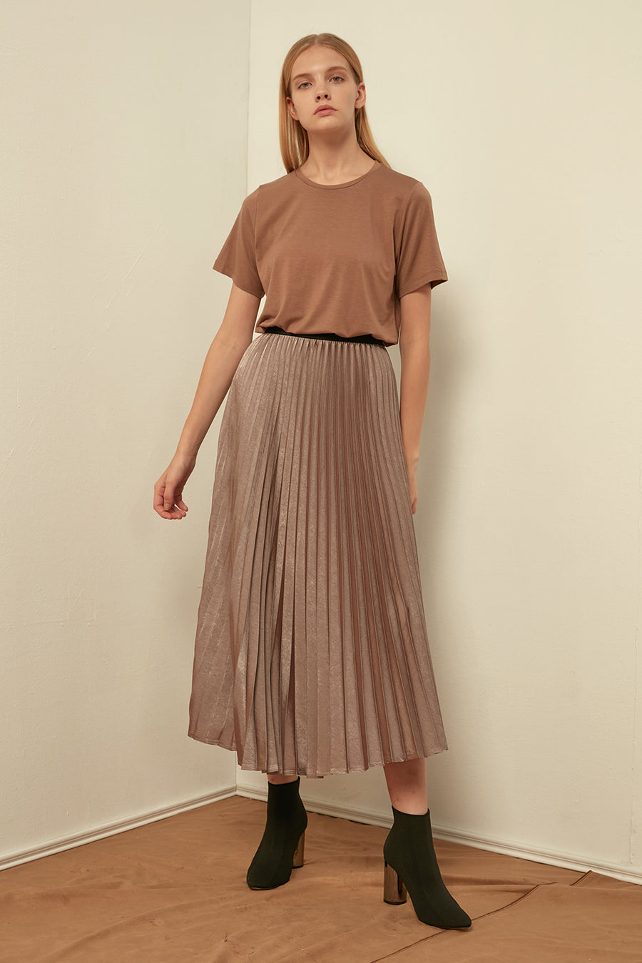 Soft pleated skirt - Zelle Studio