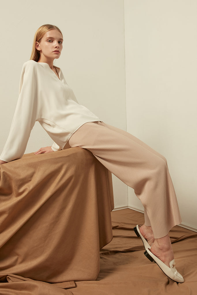 Ribbed trousers - Zelle Studio