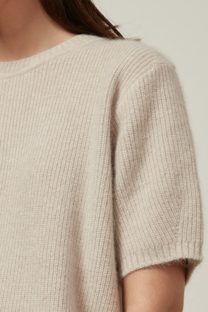 Raccoon fox and wool-blend sweater - Zelle Studio