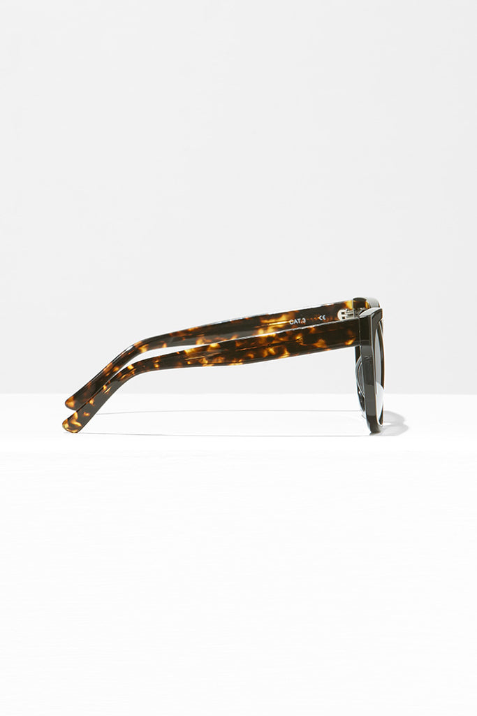 Handmade Acetate Sunglasses with Contrasting Pattern
