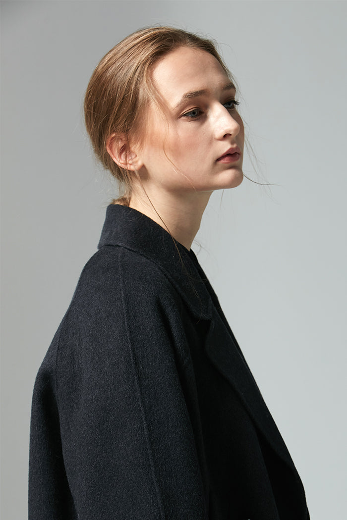 Sierra - Handmade Wool Swing Coat