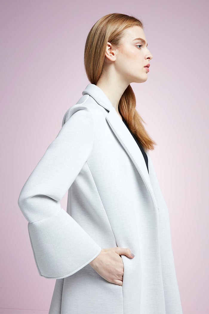 Margaret - Flared Sleeve Coat