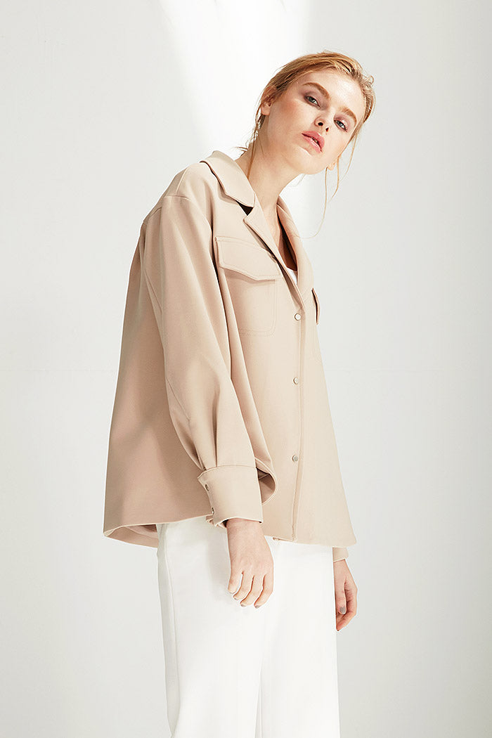 Bobbi - Hip Length Coat