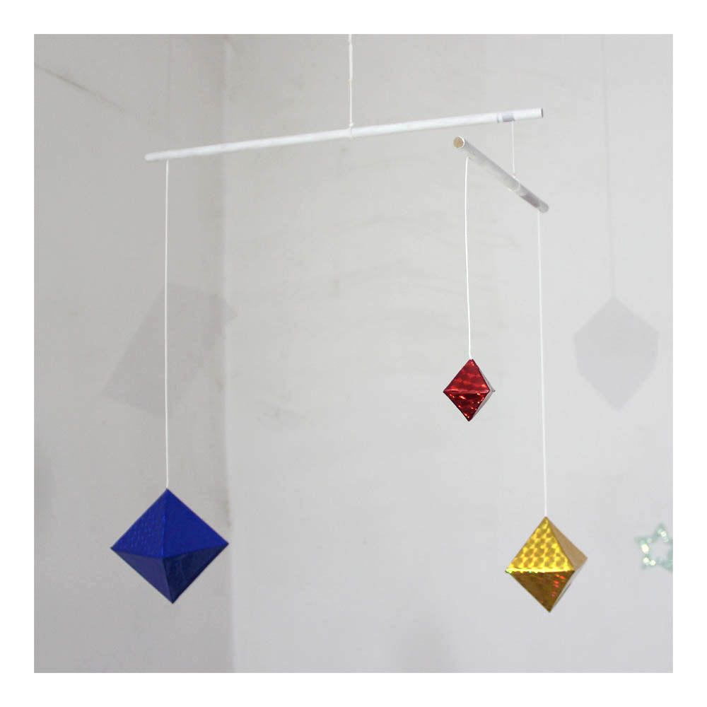 Mobile octahedral Baby toy Montessori Mobile with baby and environment friendly materials