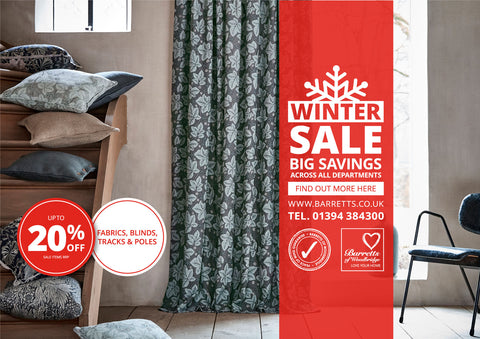 Barretts Winter Sale must end Saturday 16th February!