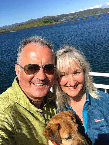 Jill, Michael and Daisy's trip to the Isle of Skye