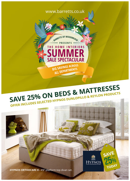 Barretts Summer Sale - Beds and Bedroom Furniture