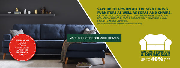 Barretts Autumn Furniture & Dining Sale Now On!