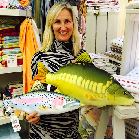 New at Barretts - Fish Cushions