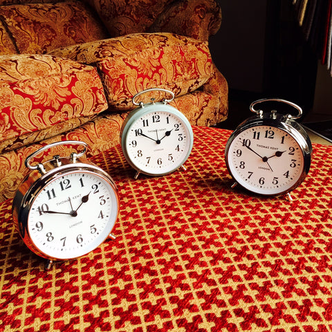 New at Barretts - Non-ticking Alarm Clocks