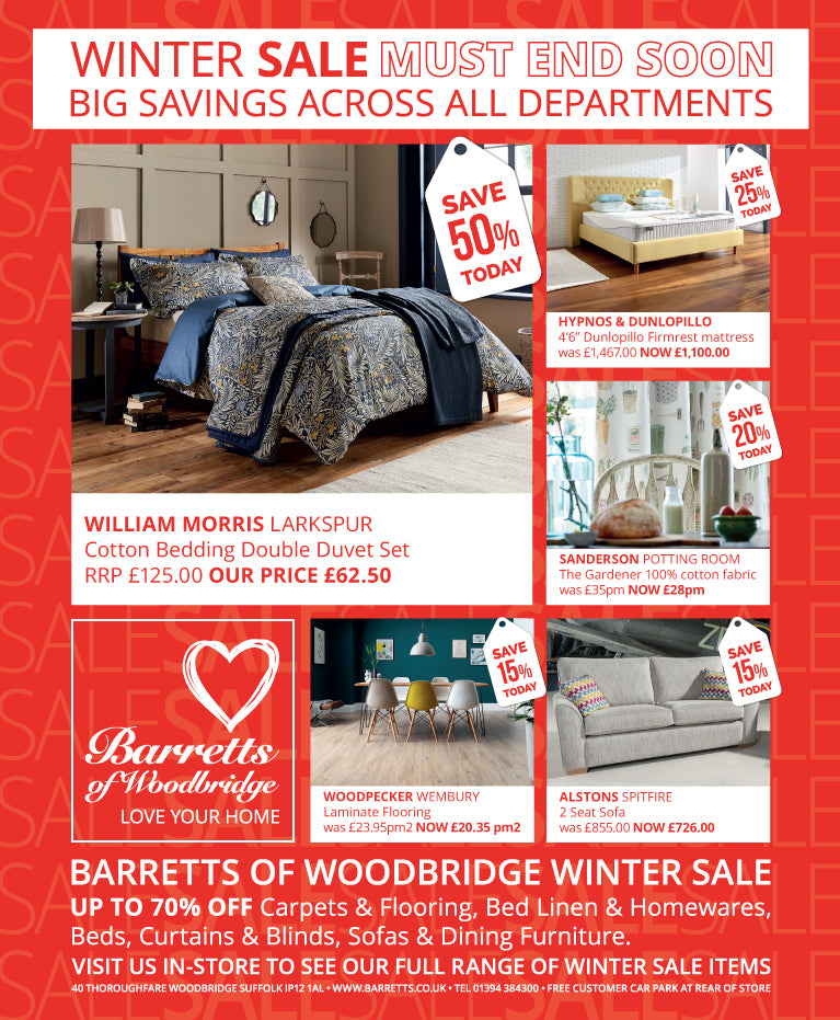 Barretts Winter Sale Must End Soon!