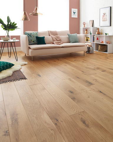 Wood flooring at Barretts
