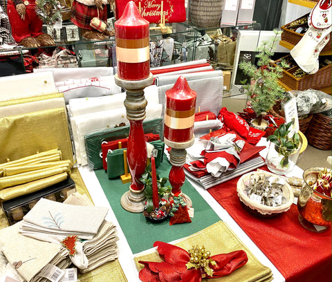 Make your Christmas Lunch special with Barretts festive tableware
