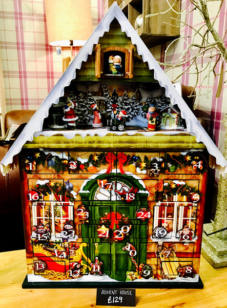 Musical Advent Calendar House