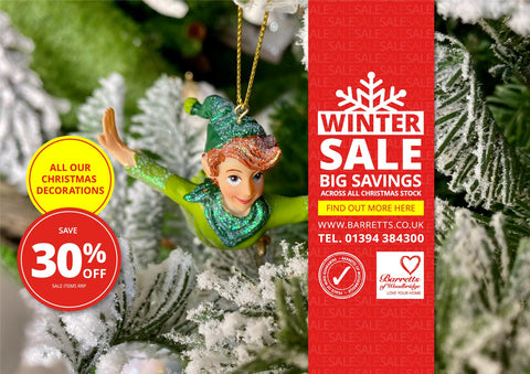 30% off all Christmas Decorations!