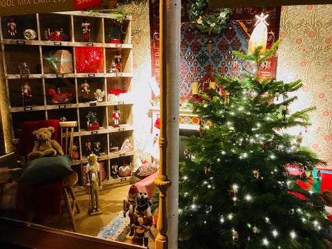 Barretts Christmas Window Displays now in!