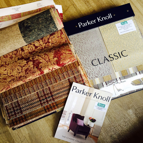 New at Barretts - Classic Fabric Swatches from Parker Knoll