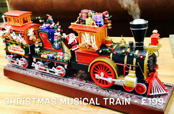 Musical Christmas Train - 'Santa's Express'