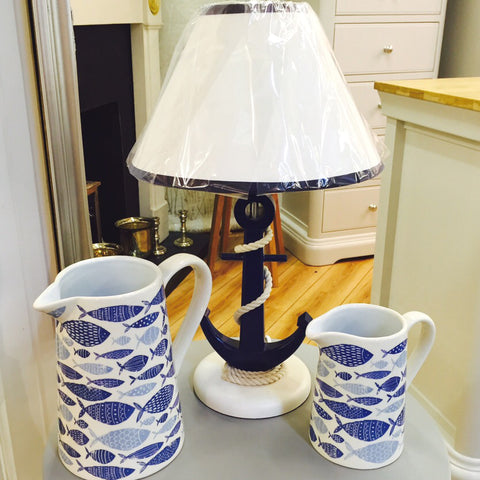 New at Barretts - Jug Lamps and Anchor Lamp