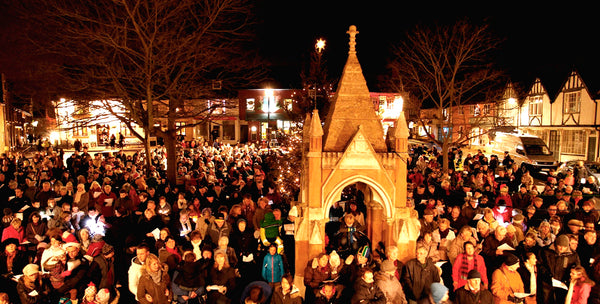 Carol Singing on Market Hill - Jill Barrett's Blog