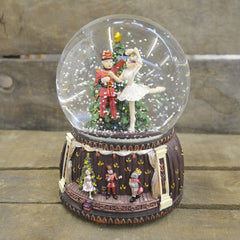 'Nutcracker' Christmas Musical Snow Globe (No. 55047)