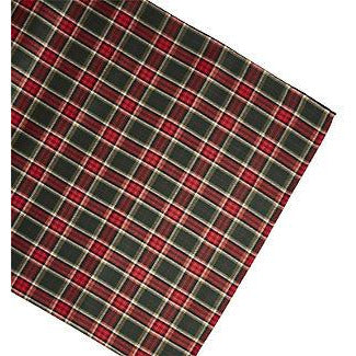 Tartan Tablecloth and Napkin