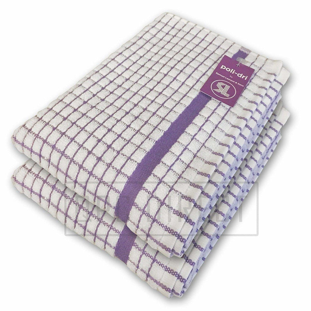 Super Absorbent Cotton Poli-Dry Tea Towels from Samuel Lamont