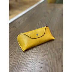 Leather effect soft glasses case