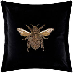 Layla Velvet Feather-Filled Cushions by Voyage