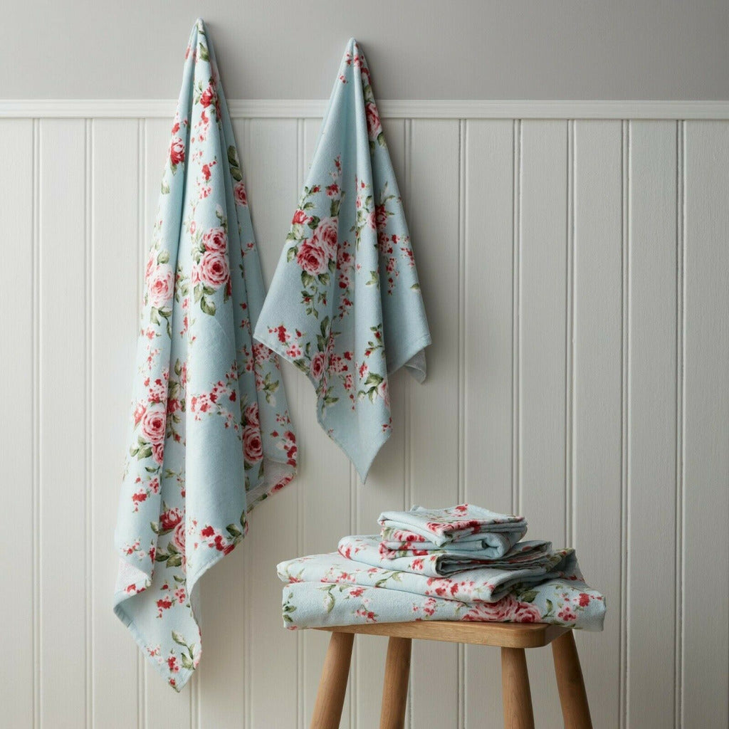 Classic Canterbury Floral Design Towel Bale