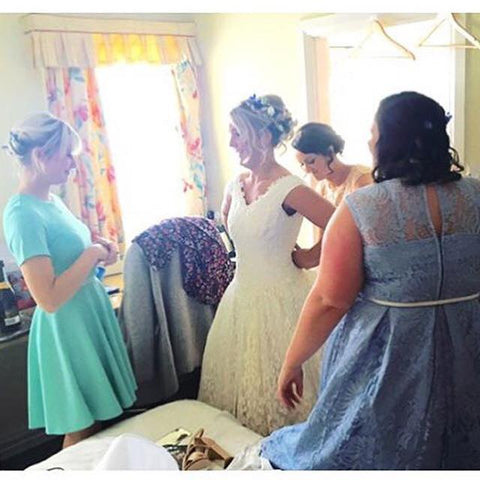 Dress the bride wedding service kenilworth