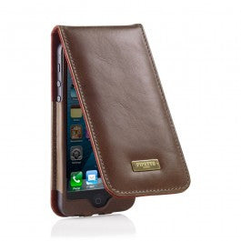buy online 55df5 3a872 Aspinal of London Leather iPhone 5 Case – Black Lizard and Purple ...