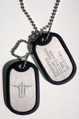 Wolfenstein The New Order Dog Tags with ball chain Blazkowicz Gaya Entertainment