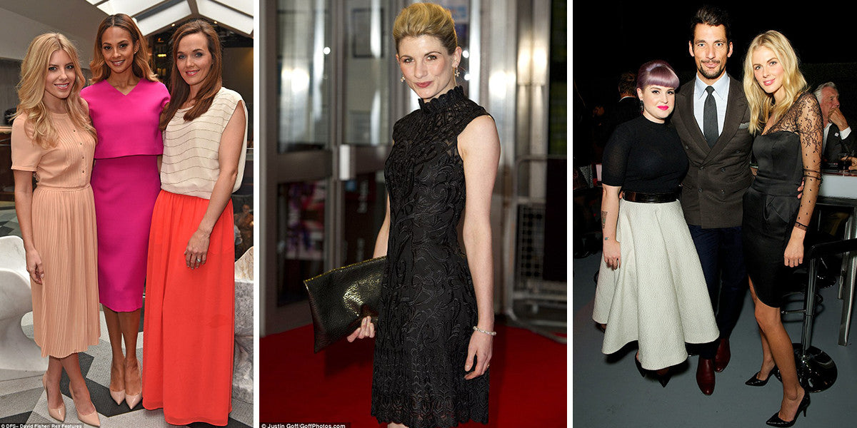 Celebrity Style, As seen on, Celebrity Dress, Mollie King, The Saturdays, Jodie Whittaker, BFI, Donna Air, James Middleton, Middleton, David Gandy, Kelly Osbourne, Fashion Police, Red carpet, red carpet style
