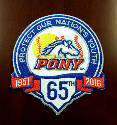 PONY 65th Anniversary Patch