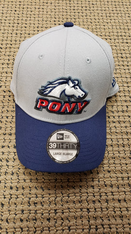 PONY Generic Cap - Gray/Blue
