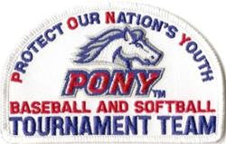 PONY Tournament Team Emblems / Patch