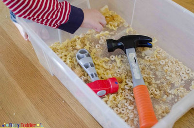 Entertain Your Toddler With A Crunchy Box
