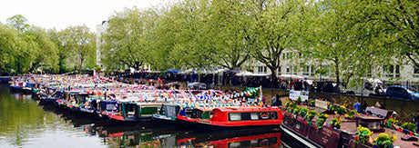 CANALWAY CAVALCADE Paddington London 4th-6th May 2019