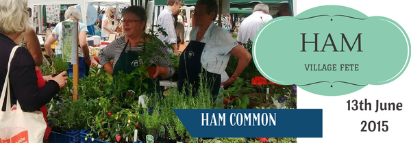 Well Hung Hammocks are at Ham Fair, 13th June 2015