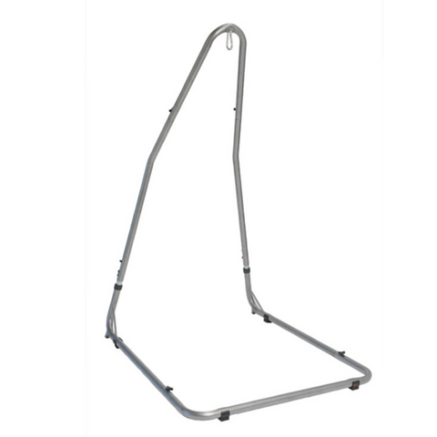 A free-standing frame for hanging hammock chairs. Adjustable in height, it is suitable for use indoors and out with most hanging type chairs. Easy to assemble.