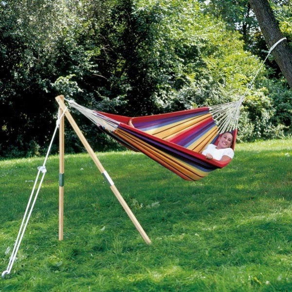 Single end hammock stand